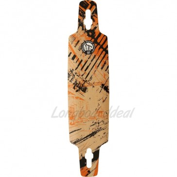 "Airflow Pump Action 39.4"" longboard deck"