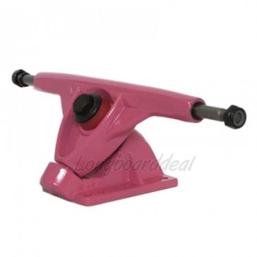 Amok 180mm longboard trucks Pink