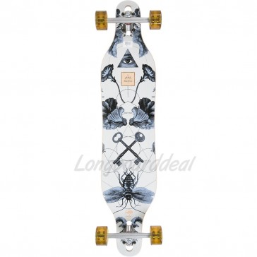 """Arbor Axis Bamboo 40"""" drop-through longboard complete"""
