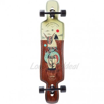 "Arbor Catalyst Artist - Hablak 41"" drop-through longboard complete"