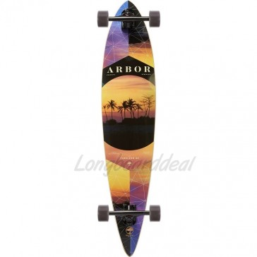 """Arbor Timeless Photo - Nick Liotta 42"""" pintail longboard complete"""