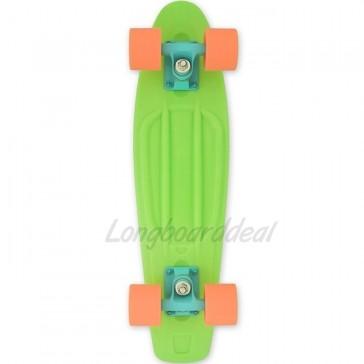 """Baby Miller Ice Lolly Lime Green 22"""" cruiser skateboard"""