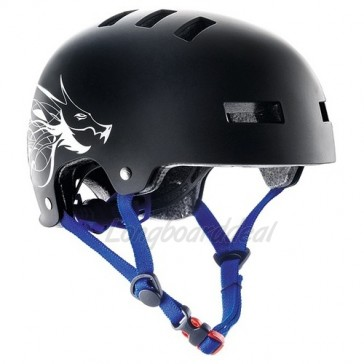 Bluegrass SUPERBOLD Matt Black Dragon helm