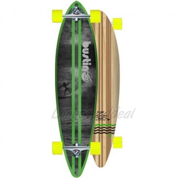"""Bustin NY Surf Cruiser 38"""" pintail longboard complete"""