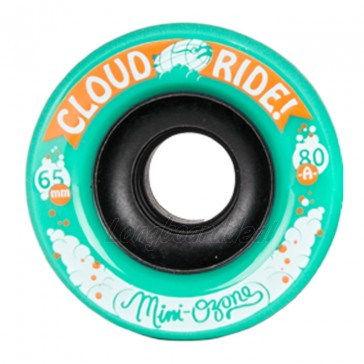 Cloud Ride Mini Ozone 65mm 80a Green longboard wielen