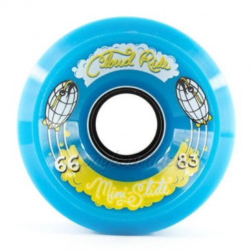 Cloud Ride Mini Slide 66mm 83a Blue longboard wielen
