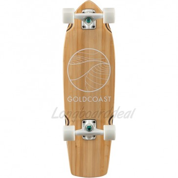 "Goldcoast Classic Bamboo 28"" cruiser complete"