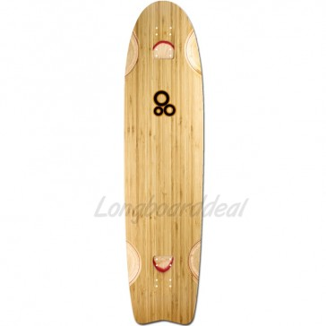 "Holesom Loaf 38.5"" longboard deck"