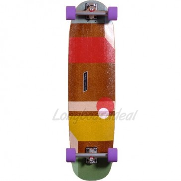 "Loaded Cantellated Tesseract 36"" longboard complete"