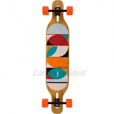 "Loaded Dervish Sama 42.8"" longboard complete"