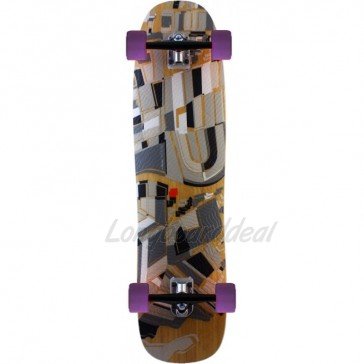 "Loaded Overland 37"" longboard complete"