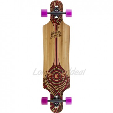 "Mindless Falcon 39"" drop-through longboard complete"