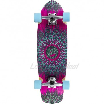 "Mindless Mandala Pink 28"" cruiser board complete"