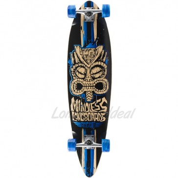 """Mindless Rogue II Limited-Edition Blue 38"""" longboard complete"""