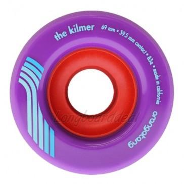 Orangatang The Kilmer 69mm 83a Purple longboard wielen