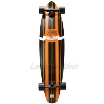 """Paradise Tommy 40"""" kicktail longboard complete"""