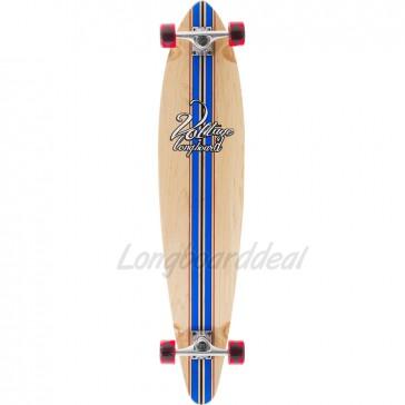 "Voltage Big Pintail Blue 42"" longboard complete"