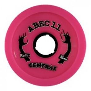 ABEC 11 Centrax 83mm 77a Pink longboard wielen