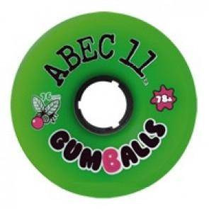 ABEC 11 Gumballs 76mm longboard wielen