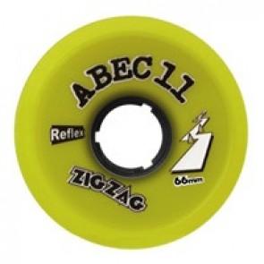 ABEC 11 ZigZags 66mm 83a Lemon longboard wielen