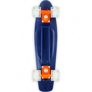 "Baby Miller U.R.O. LED Blue 22"" cruiser skateboard"