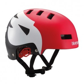 Bluegrass SUPERBOLD helm Matt-Red / White / Black