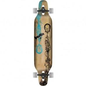 "Bustin Machete Totemu Graphic 39"" longboard complete"