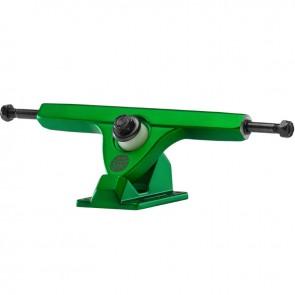 "Caliber II Fifty 10"" Satin Green longboard trucks"