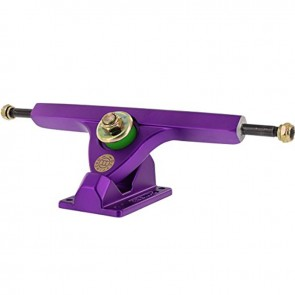 "Caliber II Forty-Four 10"" Satin Purple longboard trucks"
