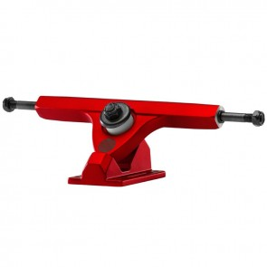 "Caliber II Forty-Four 10"" Satin Red longboard trucks"