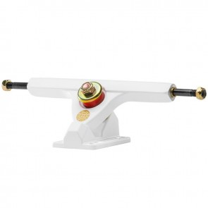 "Caliber II Forty-Four 10"" White Gold longboard trucks"