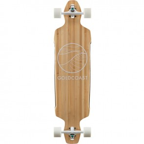 """Goldcoast Classic Bamboo Drop-Through 38"""" longboard complete"""