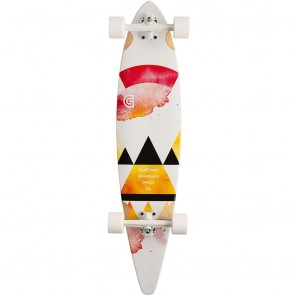 "Goldcoast The Salvia Pintail 40"" longboard complete"