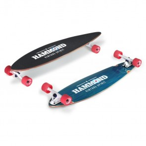 "Hammond City Surfer Pintail 43"" longboard complete"