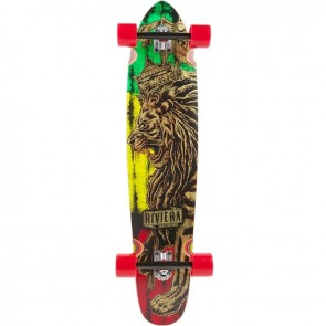 "Riviera King Of Kings III 40"" kicktail longboard complete"