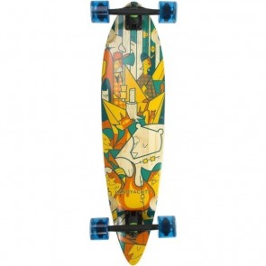 """Landyachtz Bamboo Chief Camping 36"""" longboard complete"""