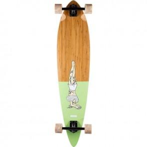 "Landyachtz Bamboo Pinner Handstand 44"" longboard complete"