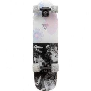 Landyachtz Dinghy Cat Fight Black/White 28.5 cruiser complete