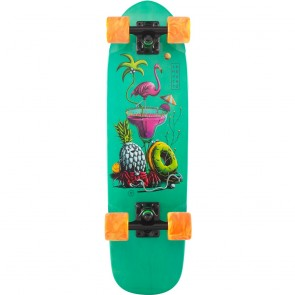 "Landyachtz Dinghy Flamingo Martini 28.5"" cruiser complete"