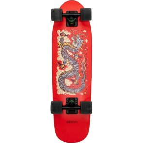 "Landyachtz Dinghy Red Dragon 28.5"" cruiser complete"