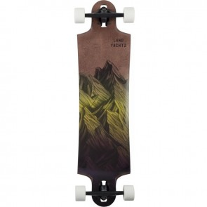 "Landyachtz Switchblade 38"" Mountains Yellow-Fade longboard complete"