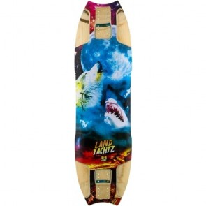 "Landyachtz Wolf Shark Re-Issue 35.5"" longboard deck"
