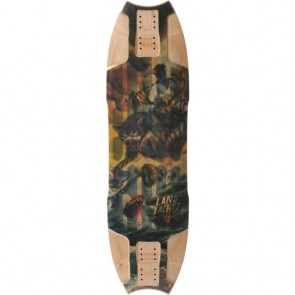 "Landyachtz Wolf Shark Sea Battle 35.5"" longboard deck"