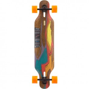 "Loaded Icarus 38.4"" longboard complete"