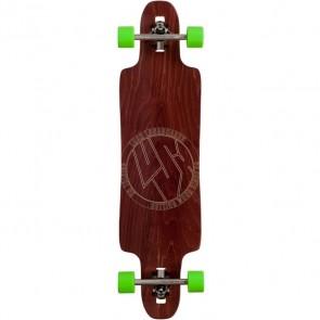 "Lush Freebyrd Wood 37.5"" longboard complete"