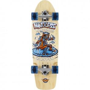 "Mindless Calamari II Natural 29.5"" cruiser board complete"