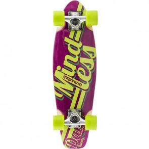 """Mindless Daily Stain 24/7 Purple 24"""" mini cruiser complete"""