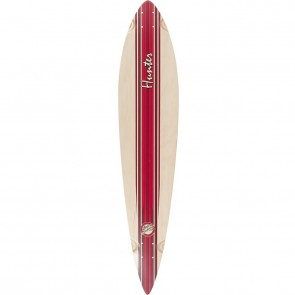 "Mindless Hunter III Red 44"" pintail longboard deck"