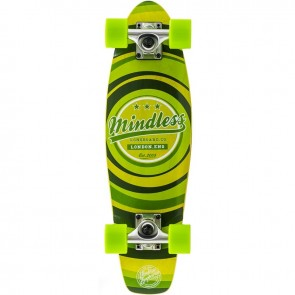 "Mindless Stained Daily II Green 24"" mini cruiser complete"