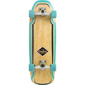 "Mindless Surf Skate Green 30"" surfskate complete"